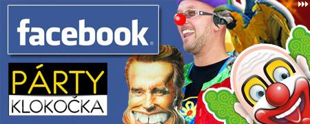 Párty Klokočka na Facebooku