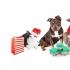 Silvestr - vánoční večírek - oslavy - Anděl s čertem a Mikuláš - PF 2018